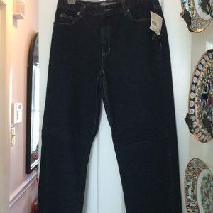 NWT Liz Claiborne size 8 straight leg jeans 👖
